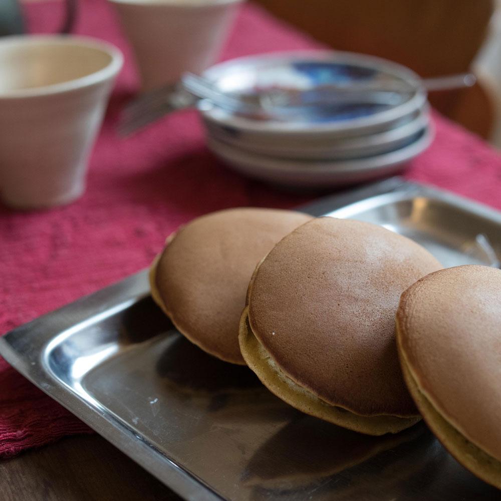 Dorayaki confectionné par azukiya, pâtisserie japonaise artisanale à Colmar.
